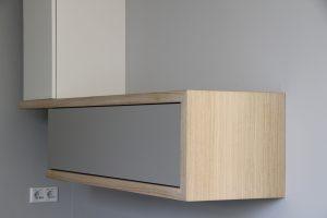 Blokvorm architectuur meubelontwerp dressoir