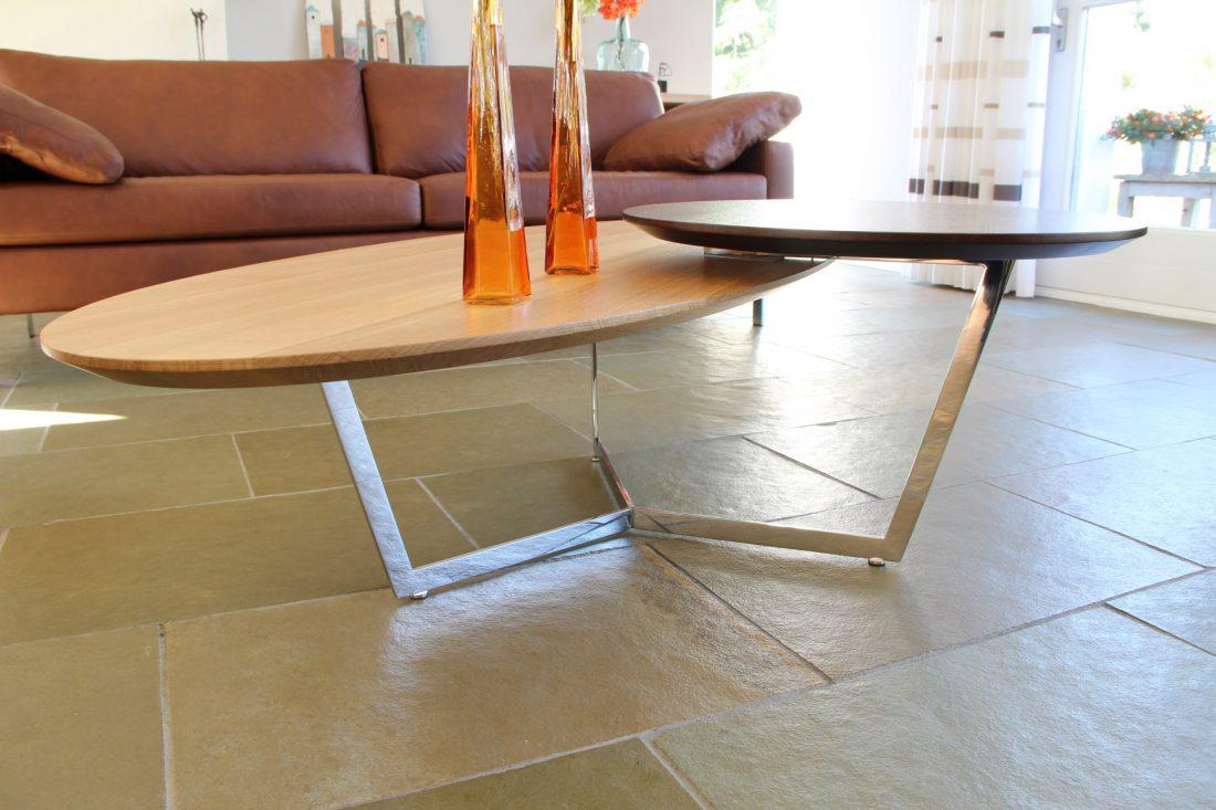 Blokvorm architectuur meubelontwerp salontafel