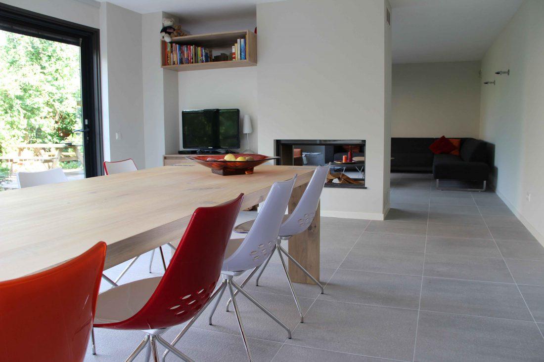 Blokvorm architectuur interieur ontwerp woonhuis1