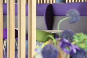Blokvorm architectuur meubel ontwerp bank