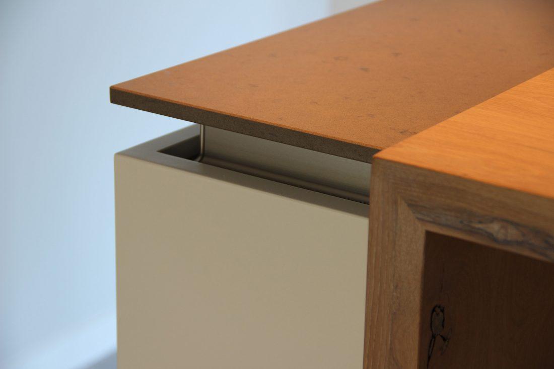 Blokvorm architectuur meubel ontwerp bar