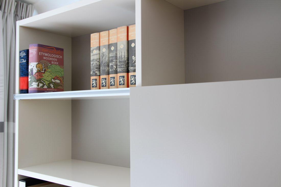 Blokvorm architectuur meubel ontwerp kast