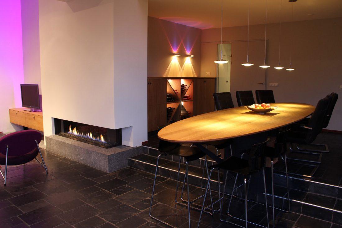 Blokvorm architectuur meubel ontwerp tvkast