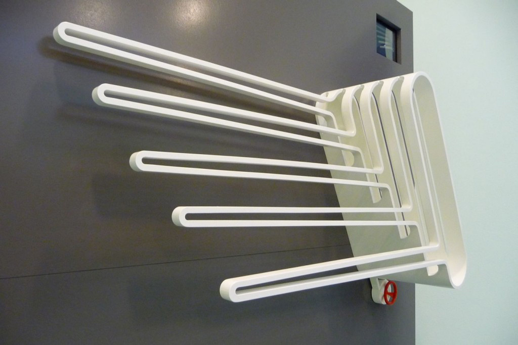 Blokvorm architectuur product design radiator wings