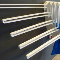 Blokvorm architectuur product design radiator wings