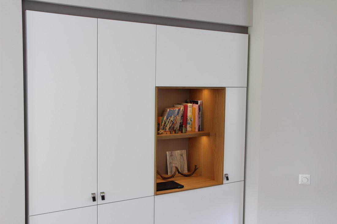 Blokvorm architectuur meubel ontwerp